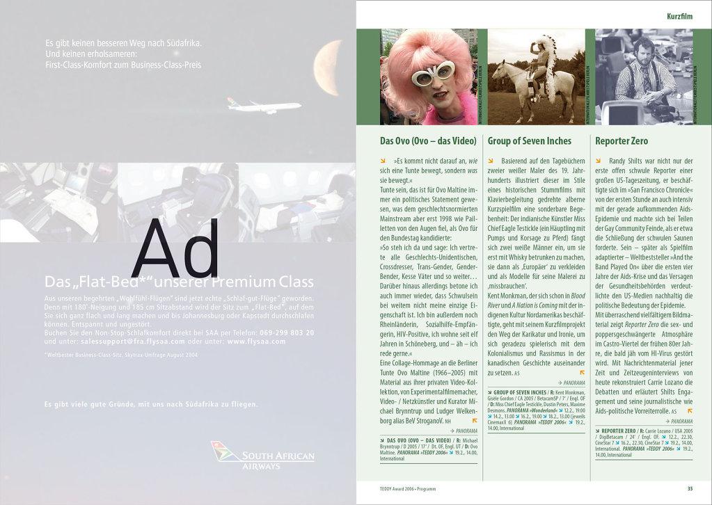 Teddy 20 · Programmheft